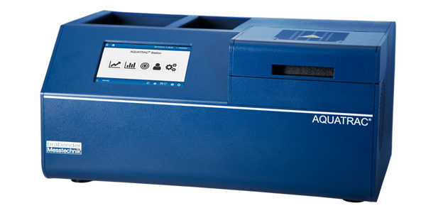 aquatrac station moisture analyser